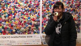 ▲曹純玉在東京馬締造全國女子馬拉松新紀錄。(圖/翻攝自曹純玉臉書)