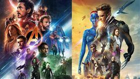 外界期待X戰警、死侍、驚奇四超人等回歸漫威宇宙(MCU),與復仇者聯盟世紀合體。(圖/翻攝自漫威、華納臉書粉絲團)