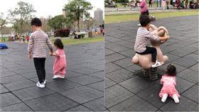 爆怨公社,哥哥,妹妹,公園,搖搖羊(翻攝自臉書爆怨公社)