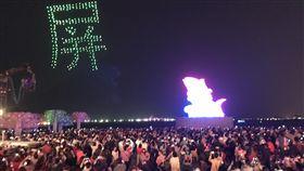 Intel無人機秀吸睛 潘孟安:明年有望再見Intel無人機空中秀在2019台灣燈會中成為一大亮點,屏東縣長潘孟安4日透露,明年在屏東舉辦的全中運,還有機會看到無人機精彩表演。(資料照片)中央社記者郭芷瑄攝 108年3月4日