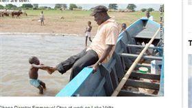 非洲迦納童工問題嚴重。(圖/翻攝自CNN)