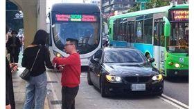 公車,BMW,台中.台灣大道,車禍