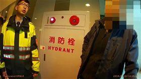 台北,台安醫院,清潔工,嗆聲,社維法。翻攝畫面