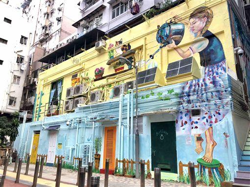 圖2(S)-西營盤藝里坊塗鴉繽紛了城市,為繁忙生活帶來驚喜 (3).jpeg