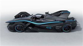 ▲EQ Silver Arrow 01電動方程式賽車。(圖/翻攝網站)