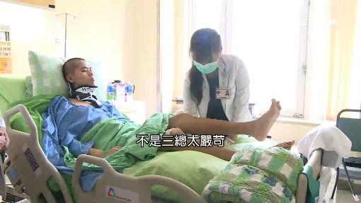 「特戰隊級復健」曝光 秦良丰抓雞米花訓練