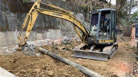 工地,挖土機,整地,嘉義