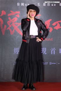 方芳芳出席「紅塵滾滾」數位修復版首映會。(記者邱榮吉/攝影)