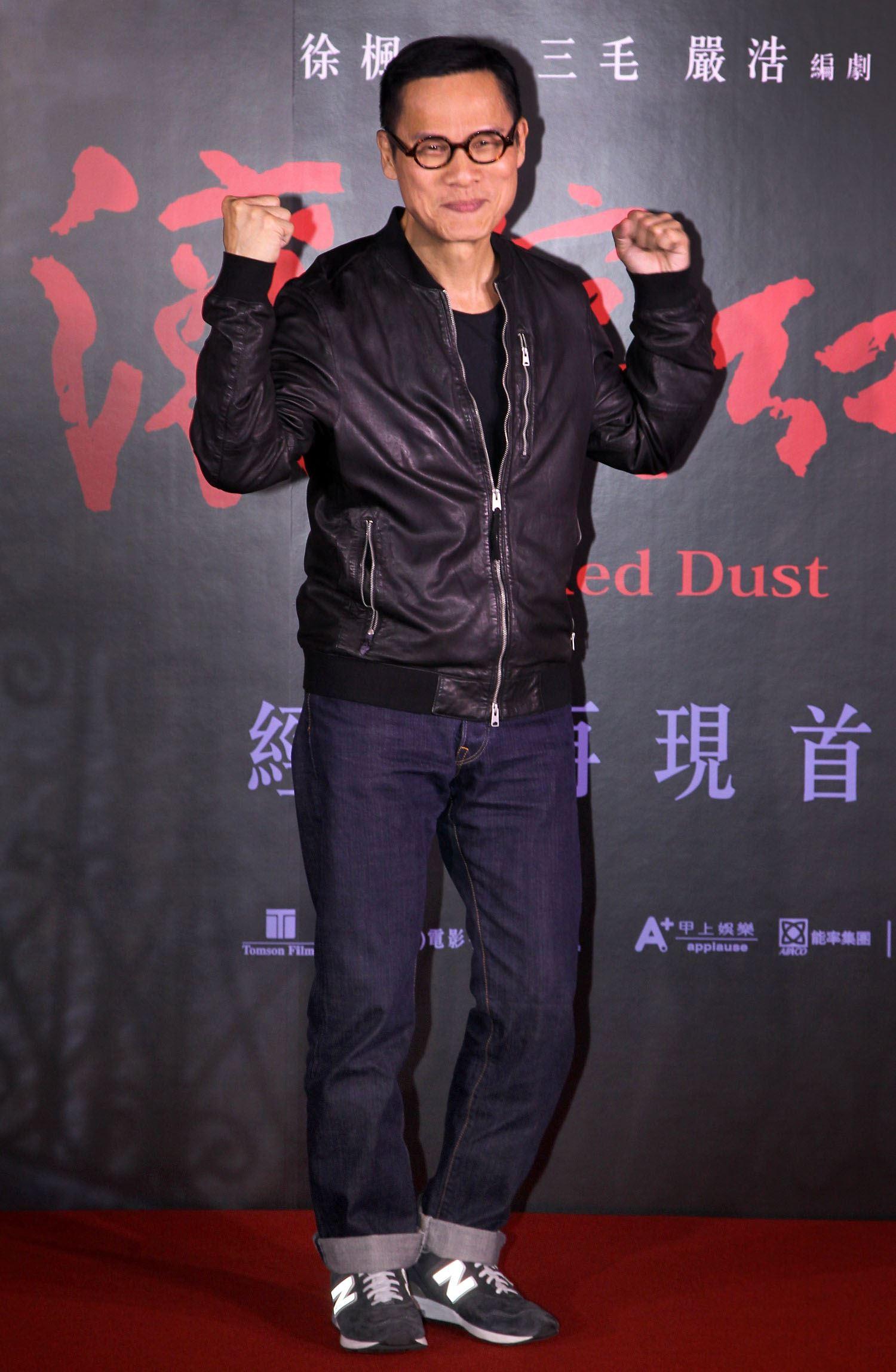 羅大佑出席「紅塵滾滾」數位修復版首映會。(記者邱榮吉/攝影)
