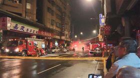 台北,萬華,瓦斯外洩,瓦漏,封鎖,疏散,台瓦(圖/翻攝自我是萬華人臉書)