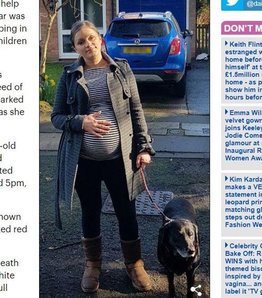 英國孕婦驚見車禍震動欲幫忙,近看才知是車震春宮。(圖/翻攝自每日郵報)