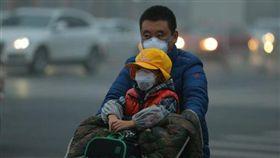 陸,空汙,霧霾,PM2.5,北京 圖/翻攝自中新網