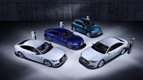 ▲Audi推出四款插電式混和油電車Q5, A6, A7, A8 TFSI e。(圖/Audi提供)