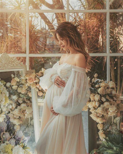 林珈安/懷孕/孕肚/產檢。IG