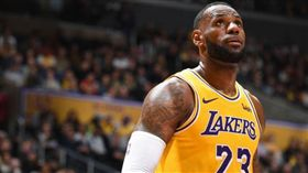 NBA/詹皇超越喬神紀錄 湖人慘敗 NBA,洛杉磯湖人,LeBron James 翻攝自推特