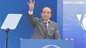 因緣到了! 王金平風雨中宣布:選總統
