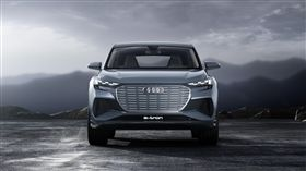▲Audi Q4 e-tron概念車。(圖/Audi提供)