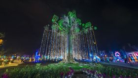 沒看到台灣燈會「阿凡達生命樹」沒關係 它在這裡繼續發光(圖/翻攝自屏東縣政府)