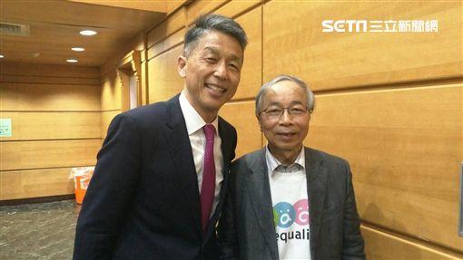 ▲瑞銀集團台灣區總經理陳允懋與楊瑞永醫師。(圖/記者林辰彥攝影)