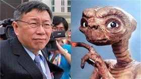沈嶸表示柯文哲在前第二世是外星人轉世。(圖/翻攝自臉書)