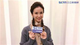 「戲說女神」陳小菁接受《三立新聞網》專訪。