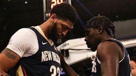 NBA/鵜鶘球星傷腹肌 至少缺1週 NBA,紐澳良鵜鶘,Anthony Davis,Jrue Holiday,受傷 翻攝自Anthony Davis IG