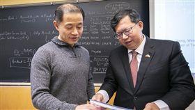 鄭文燦哥大一日教授