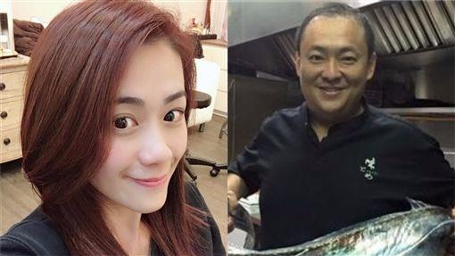 女星柯以柔與廚師老公郭宗坤(圖 臉書)