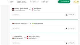 ▲印地安泉網賽官網用中華民國國旗。(圖/翻攝自印地安泉網賽官網)