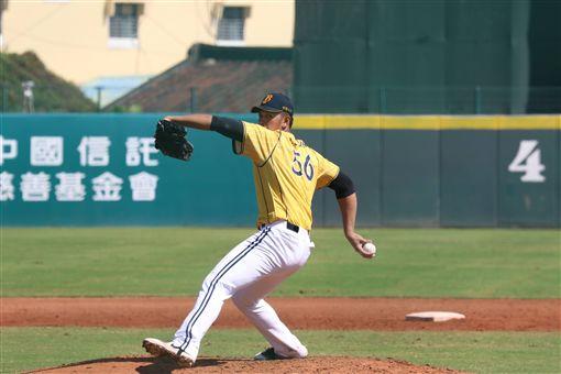 ▲中信兄弟先發投手楊志龍春訓表現出色。(圖/中信兄弟球團提供)