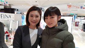台北,大安,女警,SOGO,婦女節。翻攝畫面