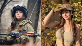 Elena Deligioz,俄羅斯,女兵,雪乳,美尻 圖/翻攝自Elena Deligioz_Instagram