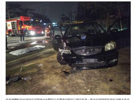 (圖/翻攝自東方online)馬來西亞,女星,江倩齡,車禍,身亡