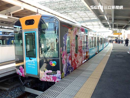 桃捷,日本,阪神電氣,彩繪列車,/桃捷提供