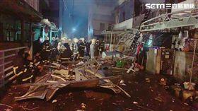 蘇澳氣爆惡火噬工廠 疑孩童受困警消冒死救援