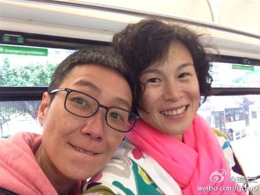 趙式芝和楊如芯 (圖/臉書 微博)