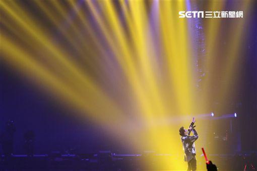 潘瑋柏演唱會,謝金燕嘉賓助陣。(圖/記者林士傑)
