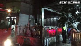 台北,內湖,火警,公寓,燒燙傷(圖/翻攝畫面)