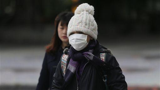 寒流、冷氣團、天冷、氣象、冬天/中央社