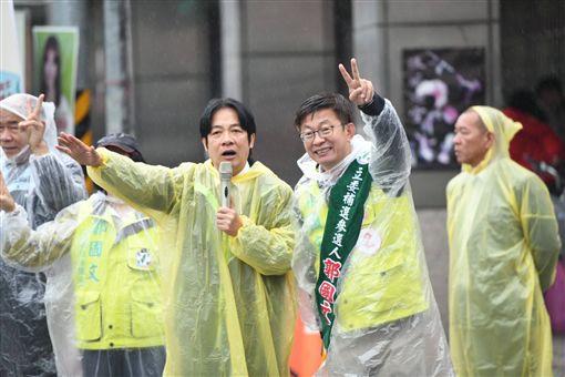 郭國文與賴清德,臉書