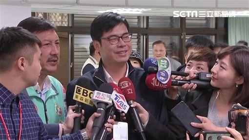 陳其邁輔選余天,新聞台