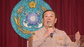 海軍司令部司令黃曙光上將 圖/記者林敬旻攝
