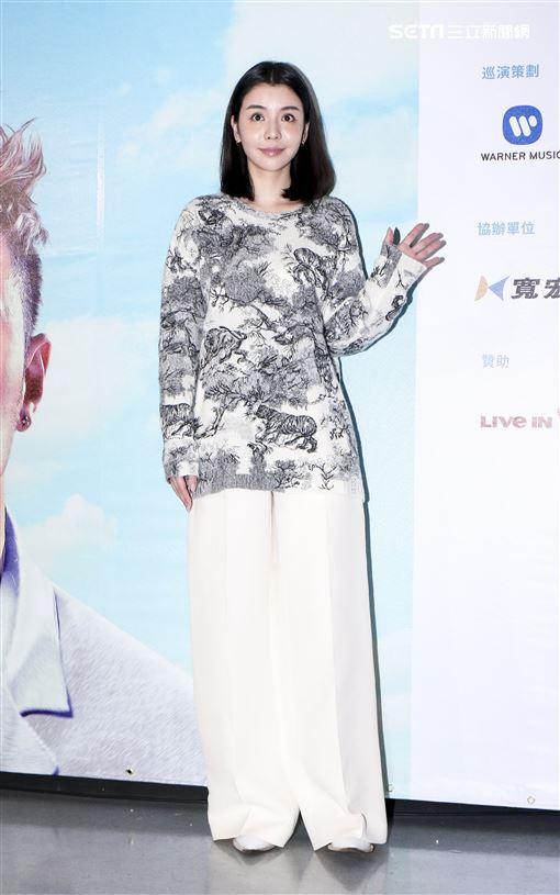 潘瑋柏Alpha創使者世界巡迴演唱會2019台北站出席嘉賓李毓芬。(記者林士傑/攝影)