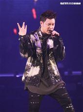 潘瑋柏Alpha創使者世界巡迴演唱會2019台北站。(記者林士傑/攝影)
