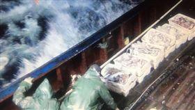台中,大陸漁船,越界,捕撈,海巡(圖/翻攝畫面)