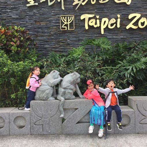 隋棠、Tony、動物園。(圖/Tony IG)