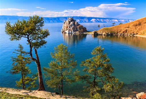 ▲貝加爾湖的水量足夠50億人飲用半個世紀。(圖/dreamstime提供)