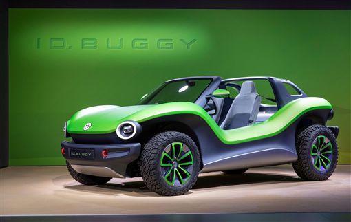 ▲Volkswagen ID. BUGGY電動概念車。(圖/Volkswagen提供)