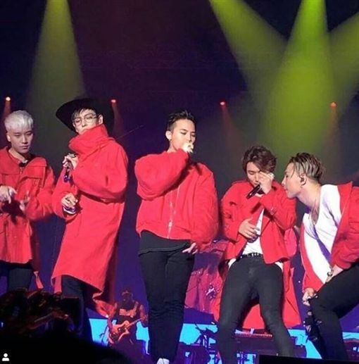 BIGBANG(翻攝BIGBANG臉書)