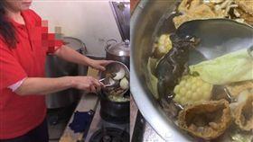 知名羊肉爐名店吃到老鼠全屍/記者蔡文淵攝、翻攝自臉書花蓮爆料王